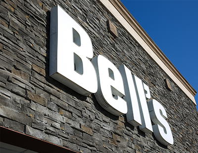 Bell's Front of Store